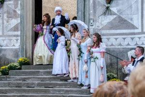 Vévoda s rodinou.