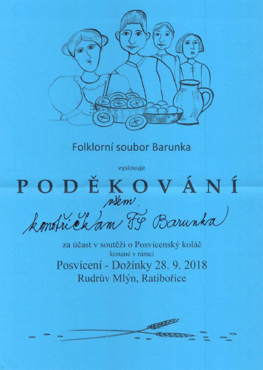 20180928 posvicensky kolac - podekovani